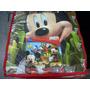 Piso De Encastre Mickey Mouse C Bolsa Guardar Goma