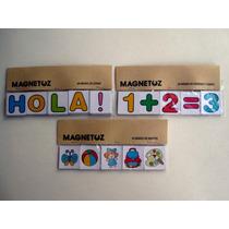 Set Letras, Números, Objetos Y Figuras Geométricas