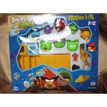 Juego Angry Birds Space Con Catapulta