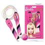 Barbie Soga De Saltar Musical Con Contador De Vueltas Intek