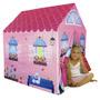 Casa Niñas Tela Estructura Caño 105x76x98 / Open-toys 125