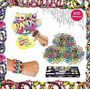 Loom Bands Kit Completo 600 Gomitas Full Color Telar Aguja