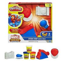 Masa Play Doh Spiderman Marvel Hombrearaña Plastilina Hasbro