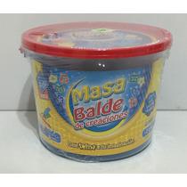 Masas El Duende Azul Balde Con Accesorios Y 3 Potes Xml 6053