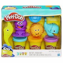 Masa Play Doh Creaciones Marinas Hasbro Mundo Manias