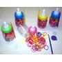 Loom Bands Gomitas De Colores Bicolor X 100 X 5 Mamaderas