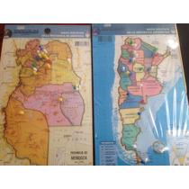 Rompecabeza Mapa Provincia De Mendoza