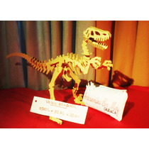 Dinosaurios, Para Armar, Puzzle. En Madera, En Mdf