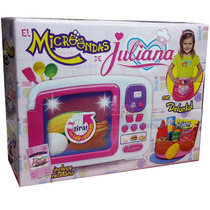 Nuevo Set Cocinera Juliana Con Microondas Y Accesorios R&m