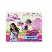 Juliana Glitter Look Aplique Para El Pelo Licencia Original