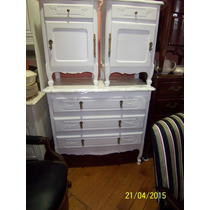 Decoantiguo-dormitorio Provenzal Reciclado En Blanco