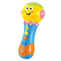 Juguete Bebé Micrófono C/ Luces Y Sonidos Trotyl Kids
