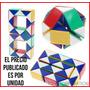 Juego De Ingenio Plástico Serpiente Rubik Snake Genérica Toy