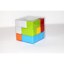 Cubo Rompecabezas Estilo Tetris - Juego De Ingenio