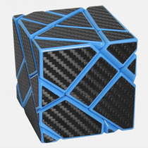 Cubo Rubik Ghost Fangcun 3x3x3 - Azul C/stickers Vrios Color
