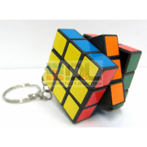 Cubo Mágico Tipo Rubik Llavero Ideal Souvenir Calidad Miralo