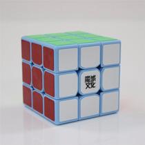 Cubo Moyu Tanglong 3x3x3 Speed Cube - Blue - Poroto Cubero