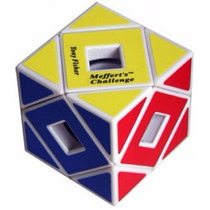 Cubo Meffert´s Holey Skewb Tony Fisher White - Poroto Cubero
