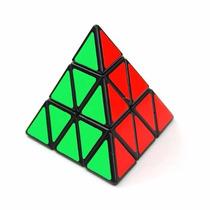 Cubo Mágico- Shengshou Pyraminx Speedcubing Black Puzzle