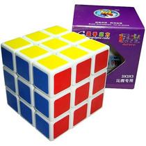 Cubo Rubik Shengshou Aurora 3x3 Blanco Y Negro - Speed
