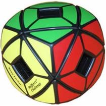 Cubo Meffert´s Holey Skewb Pillowed - Black - Poroto Cubero