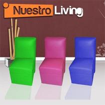 Silla Uli En Ecocuero - Gran Variedad De Colores