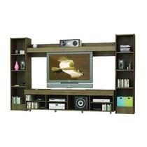 Mueble Centro De Entretenimiento Fiplasto Ce 8002 Wengue