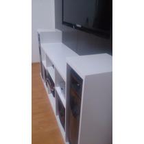 Mueble Para Led De 55 Y Equipo Sony Muteki