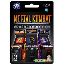 | Mortal Kombat Arcade Kollection Ps3 Store Microcentro |