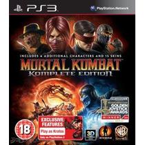 Mortal Kombat Komplete Edition Ps3/ Descarga Digital/