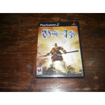 Juego Original The Mark Of Kri Ps2. Impecable!!!