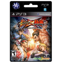 Street Fighter X Tekken Juego Ps3 Store Microcentro