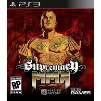 Ps3 Supremacy Mma Mixed Martial Arts