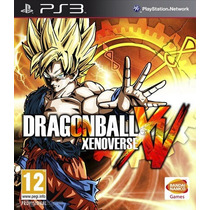 Dragon Ball Xenoverse Ps3 Digital Enttrega Inmediata