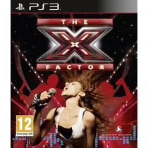 Juego Canto Ps3 The X Factor Musica Play Station 3