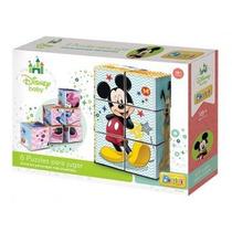 6 Puzzles Para Jugar Con Mickey