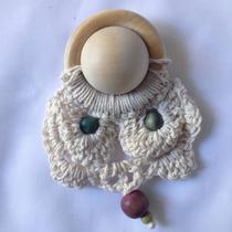 Mordillo De Madera Para Bebés Inspiración Pedagogía Waldorf