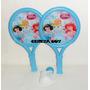 Ping Pong Paletas Badminton Princesa + Pelota + Plum