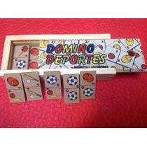 Domino De Madera Infantil