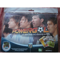 Powergol Naipes Juego Oficial Seleccion Nacional De Futbol