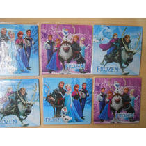 10 Rompecabezas Souvenirs Cumpleaños Frozen