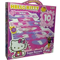 Hello Kitty Super Rayuela 10 Planchas De Goma Eva Con Detall