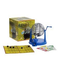 Juego De Loteria Bingo Con Bolillero Con Cartones Y Bolillas