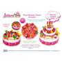 Torta De Cumpleaños Juliana Con Luces Y Sonido