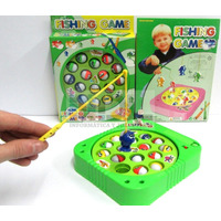 Fishing Game Sonido 15 Peces 3 Cañas T/pesca Magic Excelente