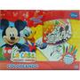 Coloreando La Casa De Mickey Mouse Didactico Con Crayones +3