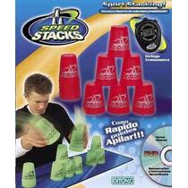 Agilidad Velocidad Juego Speed Stacks Vasos Env Gratis Caba