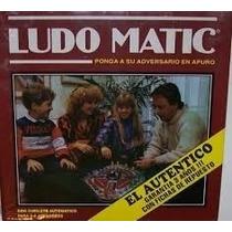 Juego Ludo Matic Con Cubilete Automatico !!! El Autentico