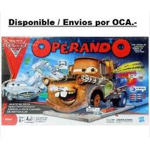 Juego De Mesa Operando Cars 2 . Envio Gratis Por Oca.-