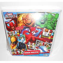 Juego Bingo Ruleta Super Heroes De Marvel Kreker